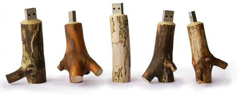 Wooden Memory Stick