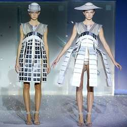 Transformer Dresses - Hussein Chalayan's 2007 Collection