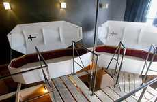 Sleep in a Coffin or a Cage - Propeller Island City Lodge