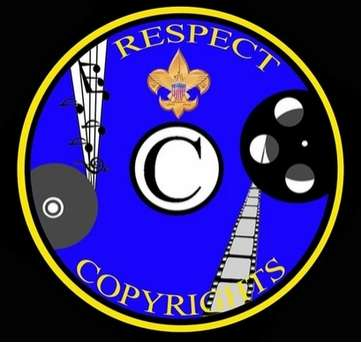 Respect Copyright Badge - Boyscouts Brainwashed by MPAA