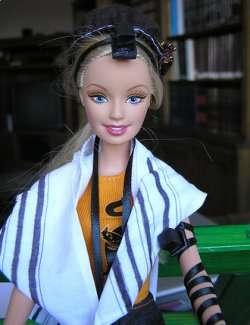 Orthodox Jewish Prayer Barbie