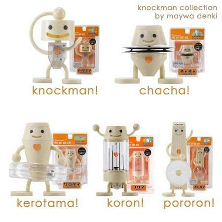 Knockman - Wind Up Figures by Maywa Denki