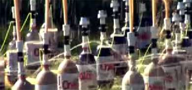 Diet Coke and Mentos Experiments II