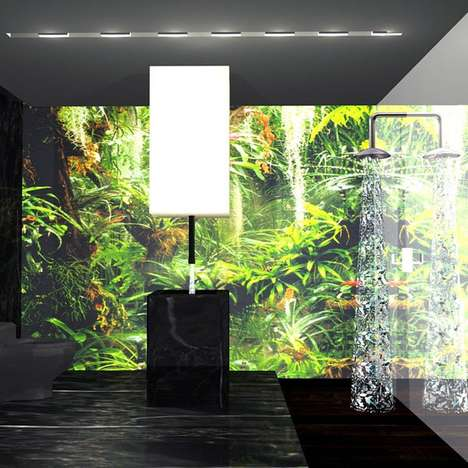 Virtual Forest - New Bathroom Concept