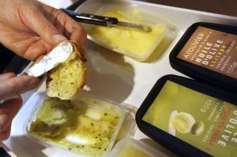 Odd Sandwich Spreads - Solidified Olive Oil to Take Over Butter?
