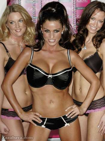 Porn Star Branded Lingerie - Katie Price (Jordan) Launches New Line