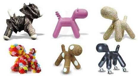 Puppy Love - 36 Designers Create Puppies to Fight Cancer