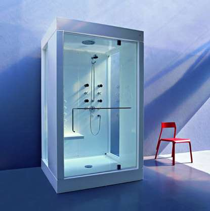 Chromotherapy-Equipped Shower
