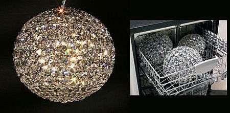 Dishwasher Safe Crystal Chandelier