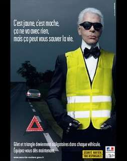 Designer PSAs - Karl Lagerfeld Road Safety Campaign