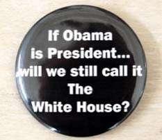 Racist Political Pins