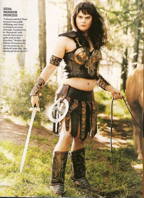 Viral TV Spoofs - 'Dwight Schrute' as Lucy Lawless as Xena: Warrior Princess