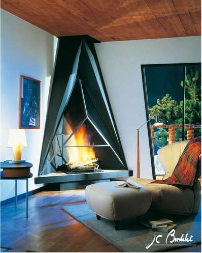 Fireplaces as Art - Innovative Designs by J.C.Bordelet