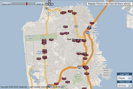 Gas Price Maps
