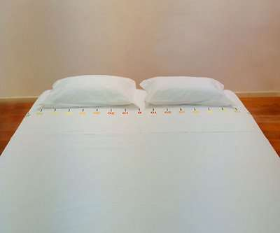 Measuring Tape Bedsheets