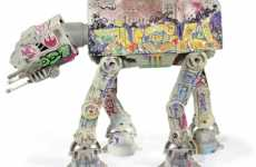 Star Wars Graffiti Toys - $2,000 Aurebesh AT-AT Vehicle