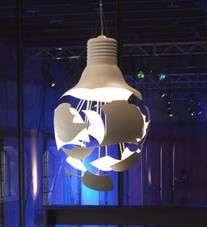 Fake Exploding Light Bulbs