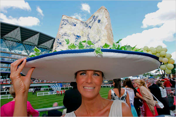 Outrageous Spectator Hats