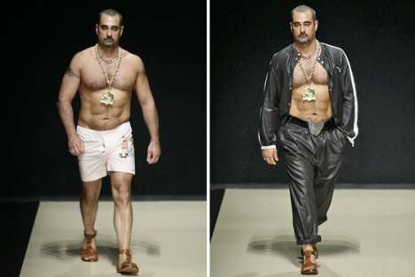 Real Gypsies As Models - Vivienne Westwood Controversial Milan Menswear Runway