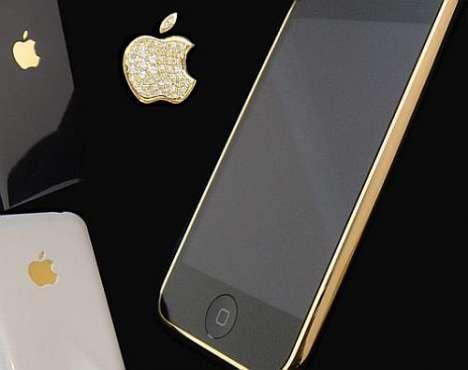 Diamond Enrusted iPhones