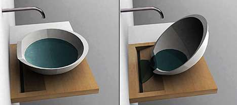 Designs to Raise Eco Awareness - Plugless Sink