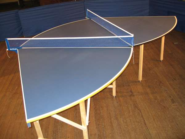 12 Player Ping Pong Tables Modular Table Tennis System