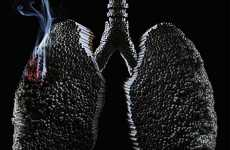 "Lungs Made of Cigarettes - ""Stop Consuming Your Body"" Anti-Smoking Campaign"