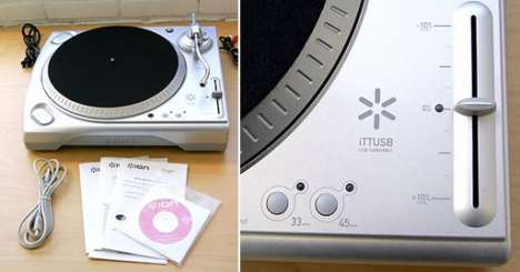 USB Turntables - Urban Outfitters Brings the LP Back