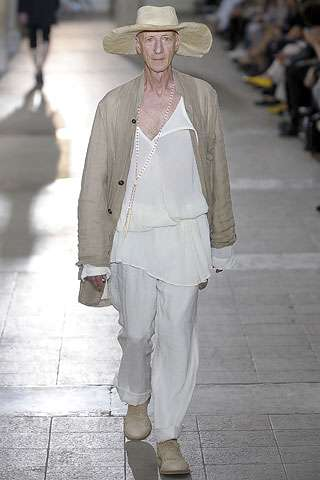 Seniors on the Catwalk (Again) - Ann Demeulemeester Spring