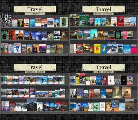 Virtual Book Shelves For Real Shopping