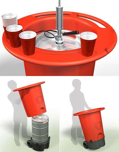 Futuristic Eco Kegs