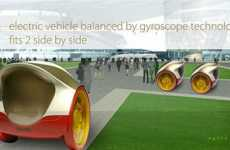 Sidewalk Pod Vehicles - The Camper Lotus