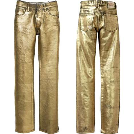 Goldplated Jeans - Kohzo Denim Disco Pants