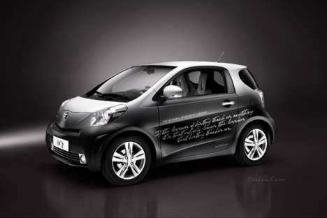 Designer Car Wraps - Toyota IQ Vinyl Designs
