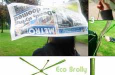Eco Umbrellas Made of Garbage