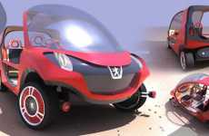 Eco Cars Without Doors - Peugeot M-Please-V