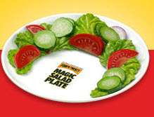 The Magic Salad Plate