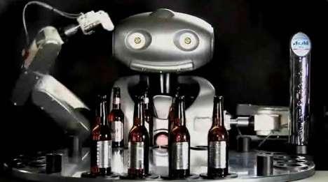 Branded Bartender Robots