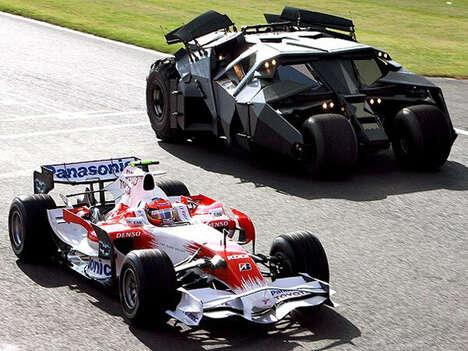 Racing Batmobiles?