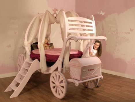 Bespoke Princess Beds - Treasured Dreams Carriage Beds