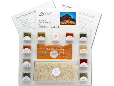 DIY Exotic Meals - Destination Dinners Recipe Kits