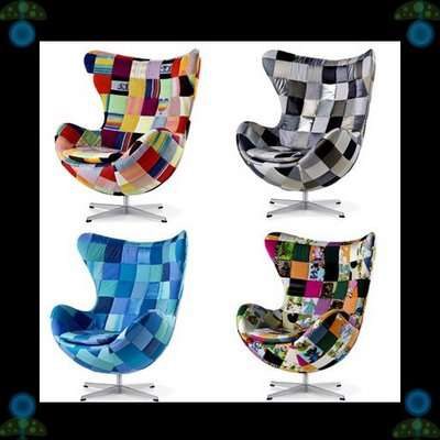 Patchwork Furniture - Special Edition Egg Chair