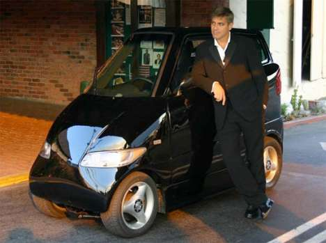 George Clooney Drives a Tango