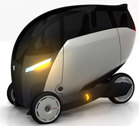 3-Wheeled Eco Vehicles - The Peugeot+