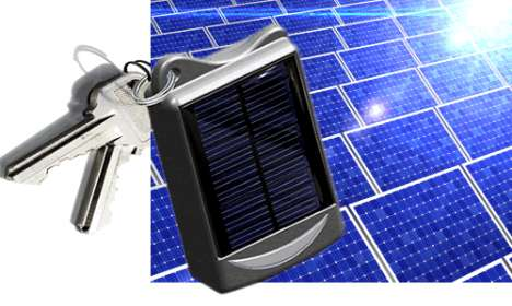 Mini Eco Chargers - Solar Charger Keyring