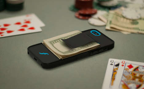 Money-Clipping Phone Cases
