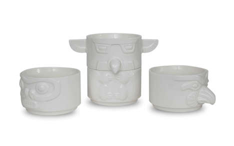 Culture-Infused Stackable Bowls