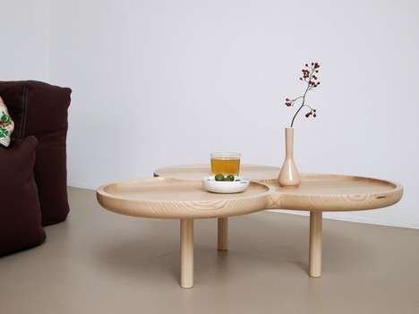 Softly Sunken Tables