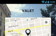 Seamless Parking Apps - The 'Valet' App Works to Remember Everything for You When Parking