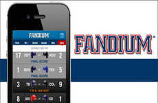 Sport-Crazed Gaming Apps - The Fandium App Puts Pictures, Tweets and Scores All in One Place